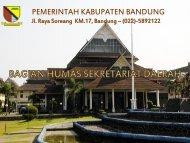 Latar Belakang Penelitian - Pemerintah Kabupaten Bandung