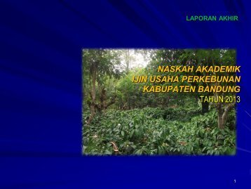 Naskah Akademik tentang Izin Usaha Perkebunan - Pemerintah ...