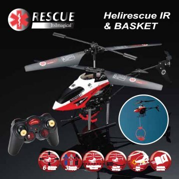Helirescue IR & BASKET Helirescue IR & BASKET - Imaginarium