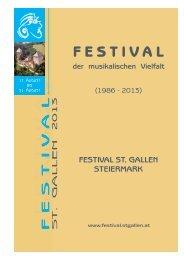 Pressemappe 2013 (.pdf 667 KB) - Festival St. Gallen