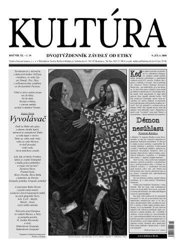 Kultúra č. 14/2008 [PDF]