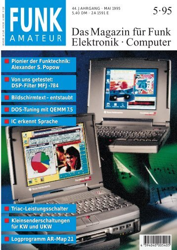 Das Magazin für Funk Elektronik · Computer - magzDB