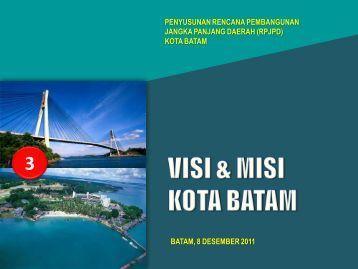materi-3-visi-misi-kebijakan - SKPD Pemerintah Kota Batam
