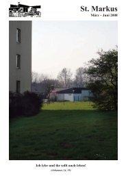 Gemeindebrief März - Juni 2008 - stmarkus-salzgitter.de