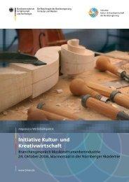 PDF: 2,3 MB - Initiative Kultur- und Kreativwirtschaft