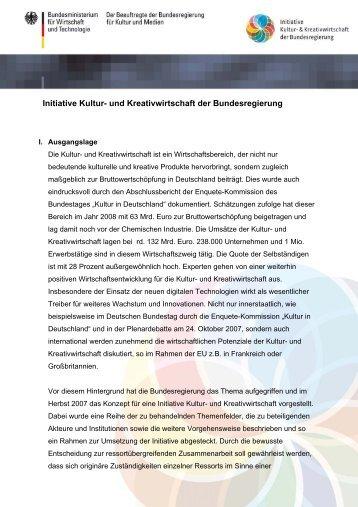 PDF: 98,7 KB - Initiative Kultur- und Kreativwirtschaft