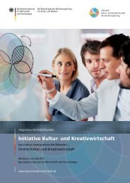 PDF: 7,3 MB - Initiative Kultur- und Kreativwirtschaft