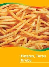 Patates, Turşu Grubu