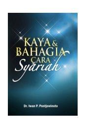 Kaya & Bahagia cara Syariah by Iwan PP - Fortuga.com