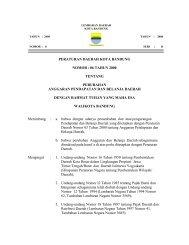 peraturan daerah kota bandung nomor : 06 tahun 2000 tentang ...