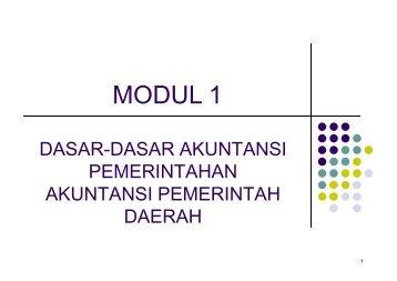 MODUL 1 MODUL 1
