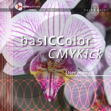 User manual - basICColor