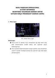 buku panduan operasional sistem informasi akuntansi keuangan