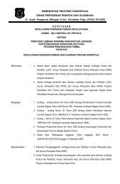 Daftar Lembaga Penerima Blockgrant KWD, KWK dan PKH-LKP ...