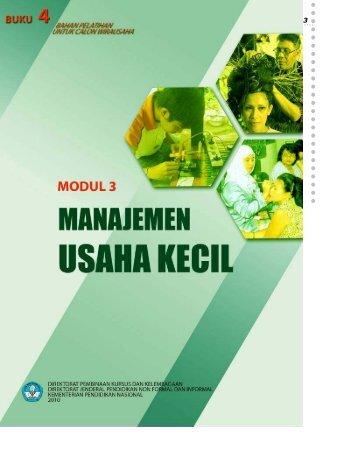 Manajemen Usaha Kecil - MODUL 3