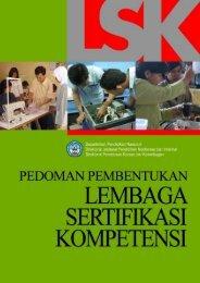 Pedoman Pembentukan Lembaga Sertifikasi Kompetensi