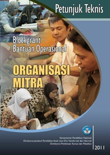 Petunjuk Teknis Blockgrant Bantuan Operasional Organisasi Mitra ...