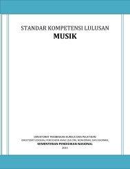 Standar Kompetensi Lulusan Musik