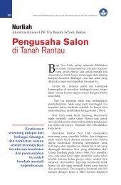 Pengusaha Salon di Tanah Rantau - Ditjen PAUDNI