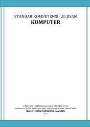 Standar Kompetensi Lulusan Komputer