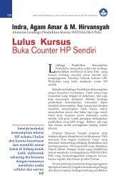 Lulus Kursus Buka Counter HP Sendiri - Ditjen PAUDNI