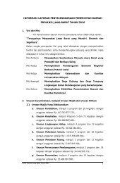informasi laporan penyelenggaraan pemerintah daerah provinsi jawa
