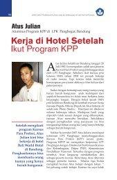 Kerja di Hotel Setelah Ikut Program KPP - Ditjen PAUDNI