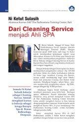 Dari Cleaning Service menjadi Ahli SPA - Ditjen PAUDNI