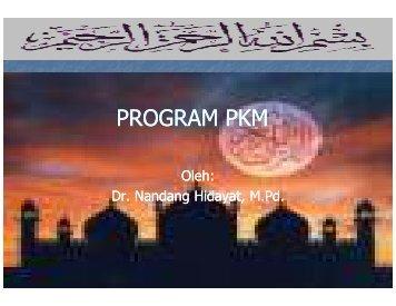 Paparan Program PKM-Hotel Mega Anggrek