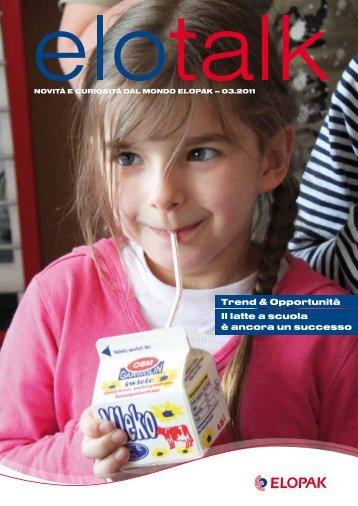 Latte nelle scuole - Elopak