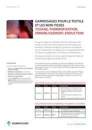 Industrie textile - Hannecard