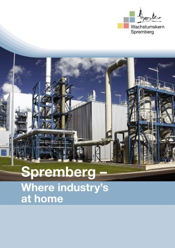 Flyer on Spremberg regional growth centre (English)