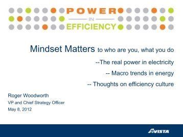 Mindset Matters to who are you, what you do --The real power  in ...