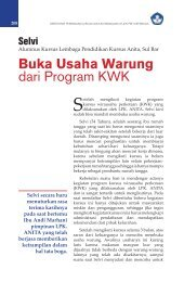 Buka Usaha Warung dari Program KWK - Ditjen PAUDNI