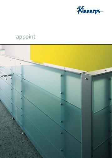 appoint Katalog (PDF) - Büro- und Objekteinrichtungen Brandenburg