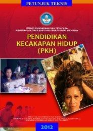 Petunjuk Teknis Pendidikan Kecakapan Hidup Tahun 2012