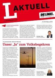 L-Aktuell 02 / 2013 - Die Linke. - Brandenburg.de