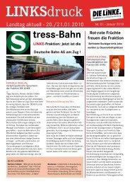 L-Aktuell 01 / 2010 - PDF 245 K - Die Linke. - Brandenburg.de