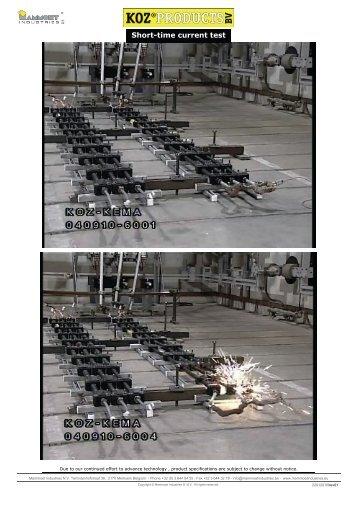 Short-time current test - Mammoet Industries nv