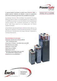 Fr-Opzs-Rs-005 April 2011 - Enersys - EMEA