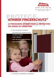 ATHMER FINGERSCHUTZ®