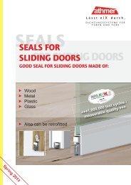 seals for sliding doors - Athmer