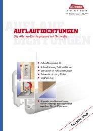 AUFLAUFDICHTUNGEN - Athmer