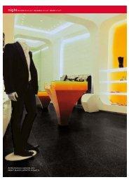 Ambientazione realizzata con: NIGHT BLACK LAPPATO 61,5x61,5 36