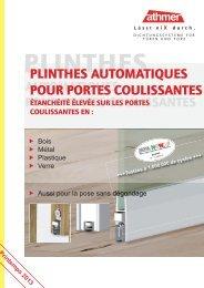 plinthes automatiques pour portes coulissantes - Athmer