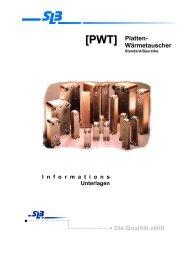 Typ PWT gelötete Baureihe - SLB GmbH