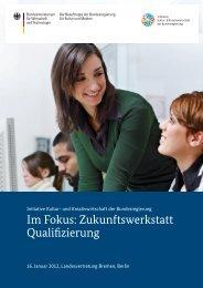 Zukunftswerkstatt Qualifizierung - Initiative Kultur- und Kreativwirtschaft