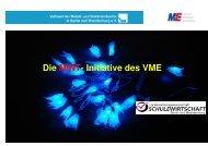 Die MINT- Initiative des VME - akb-kunststoff.de