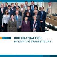 DaS büRgERbüRo - CDU-Landtagsfraktion Brandenburg