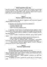 Statut Legislativní rady vlády